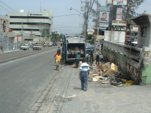 Street in Port-au-Prince, Haiti