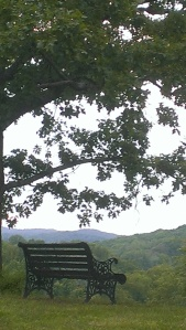 View from a quiet spot in West Virginia's Kanawha Valley