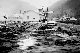 Destruction at Buffalo Creek Photo courtesy of West Virginia State Archives
