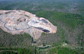 A Mountaintop Removal Site Photo courtesy of the Ohio Valley Environmental Coalition