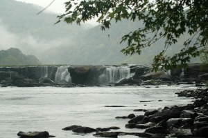 Sandstone Falls on the New River near Hinton, W.Va. Photo courtesy of Debbie Smith