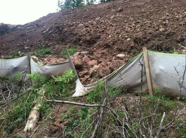 Failed erosion control 1