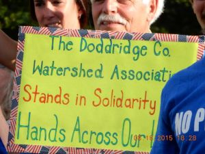 Standing in Solidarity Photo courtesy of Doddridge County Watershed Association