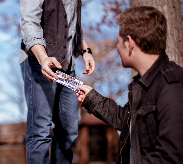 Religous tract ben-white-226176