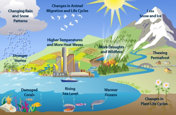 Clues of climate change NASA