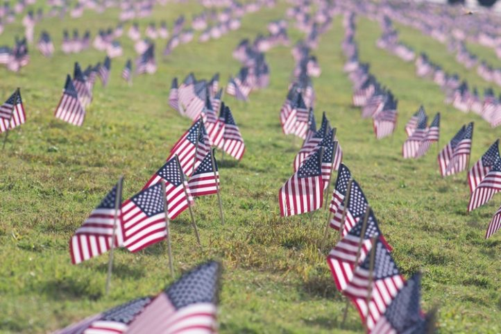 Americna flags photo-1441978549106-a217e8838d61