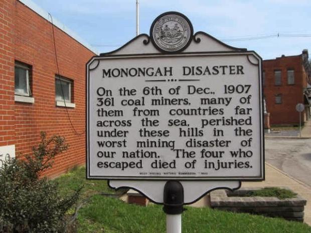 Monogah-Mining-Disaster-1907-sign-CREDIT-Einhorn-Press-DOT-com