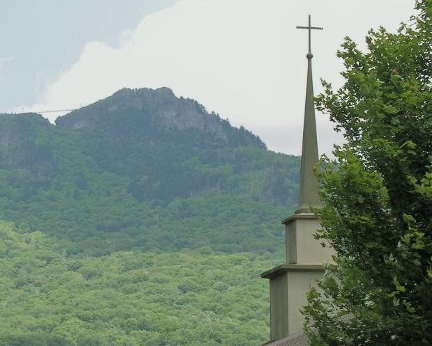 2 Grandfather Mtn bridge and steeple
