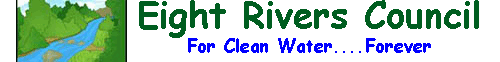 This image has an empty alt attribute; its file name is earth-day-eight-rivers-logo-1.png